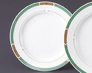 グリーンアロー(強化磁器)6 1/2寸パン皿