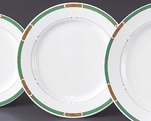 グリーンアロー(強化磁器)9寸ミート皿