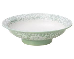 ヒスイぼたん 7.0高台皿