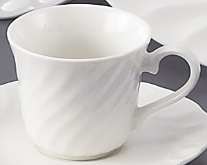 NSウェーブ(強化磁器)コーヒーカップのみ