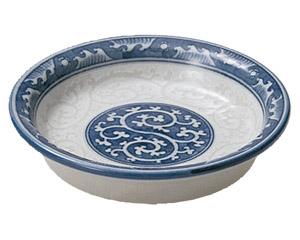 波唐草 薬味皿