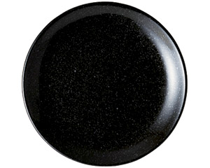 ニューチャイナ 黒玉渕24cm皿