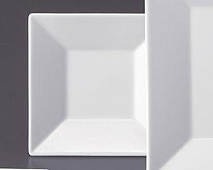 ホワイトスクエアー13cm四角皿