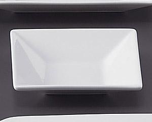 ホワイトスクエアー10cm四角皿深型