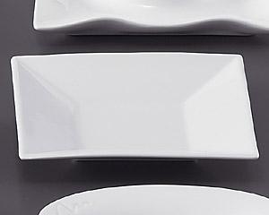 ホワイトスクエアー18cm四角皿深型