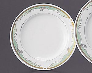 グリーンエンペラー(強化磁器)61/2寸パン皿