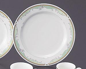 グリーンエンペラー(強化磁器)10寸ディナー皿