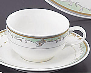 グリーンエンペラー(強化磁器)紅茶カップのみ