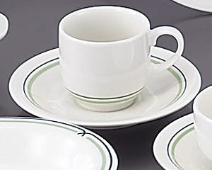 グリーンロイヤルコーヒー用受皿