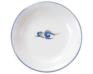 ルリ白竜 4.0丸皿
