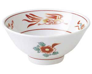 花鳥 スープ碗