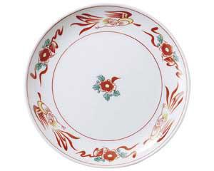 花鳥 8吋丸皿