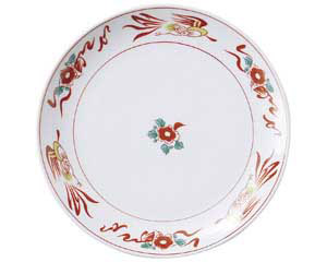 花鳥 9吋丸皿