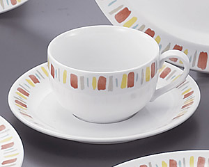 DCパーマナンス(強化・イングレ)紅茶カップと受皿