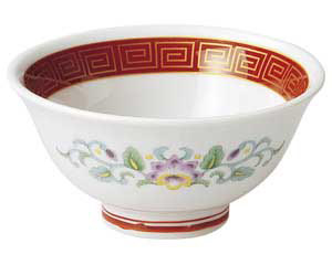 朱金雷門 3.6スープ碗