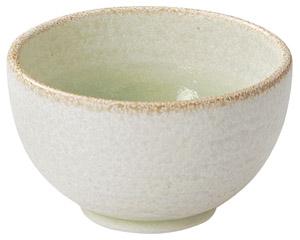 釉彩 若草 石目4.0丼