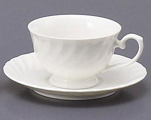 エスウェーブ紅茶カップと受皿