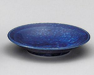 ブルーマーブル丸3.0皿