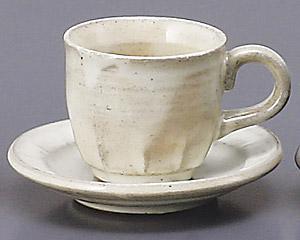 萩デミタスカップと受皿