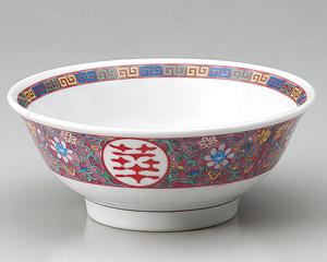 紫彩唐草高台6.5丼