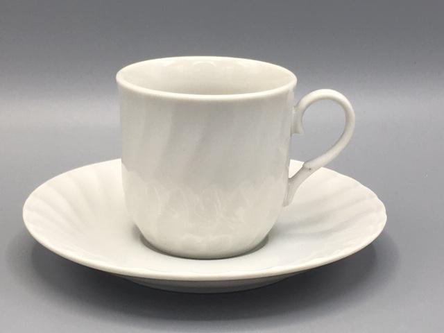 白ネジコーヒーの受皿のみ(カップは別売り) サムネイル2