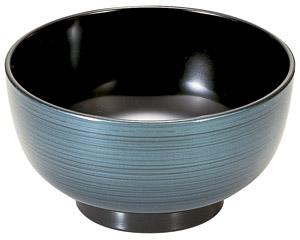 [A]平安汁椀 ブルーかすみ