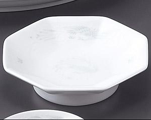 花蓮(スーパーホワイト)(強化)6.5八角高台皿