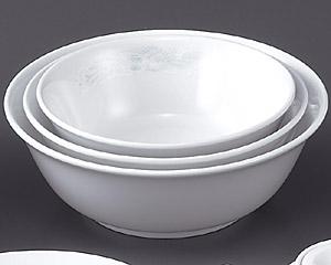 花蓮(スーパーホワイト)(強化)8寸スープボール