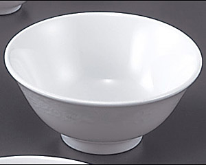 花蓮(スーパーホワイト)(強化)41/2寸スープ碗
