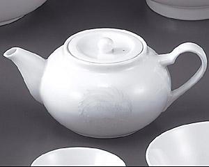 花蓮(スーパーホワイト)(強化)ティーポット