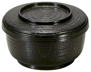 [A]割子飯器 黒