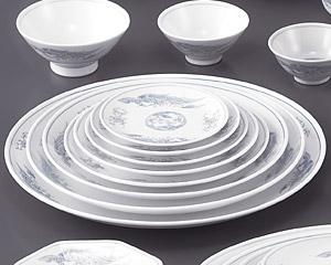 遊鳳(強化)61/2寸丸皿