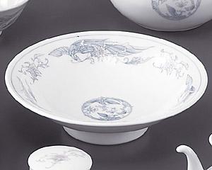 遊鳳(強化)8寸丸高台皿