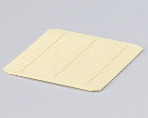 [樹脂製]P.Pクリーム竹ス 11.5cm角[洗]