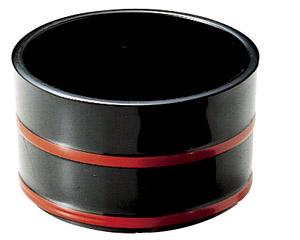[A]3.3寸桶型つゆ入黒朱ひも