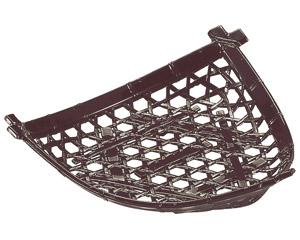 [A]三角平皿 茶パール