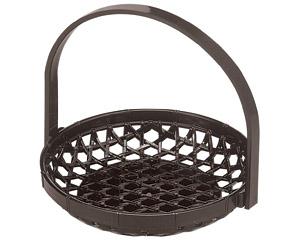 [A]竹かご マロン(折畳式)5寸