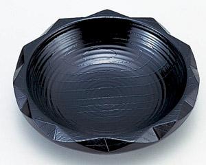 [A]4寸D.X亀甲茶托 黒