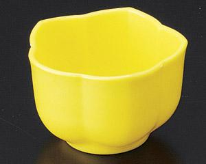[P]桔梗鉢(樹脂製) イエロー
