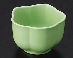 [P]桔梗鉢(樹脂製) グリーン