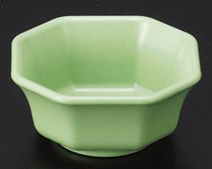 [P]隅切ミニ角鉢(樹脂製) グリーン