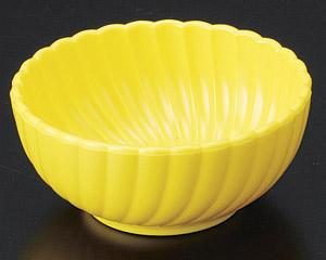 [TA]菊鉢(深)(樹脂製) イエロー