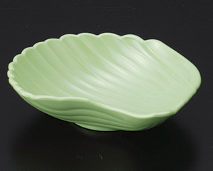 [P]貝型珍味(樹脂製) グリーン