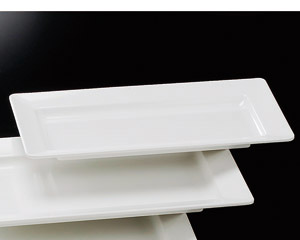 [M]隅丸長角盛皿(メラミン樹脂)44cm