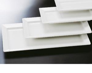 [M]隅丸長角盛皿(メラミン樹脂)71cm
