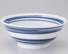 流水ブルー7.0反高台丼