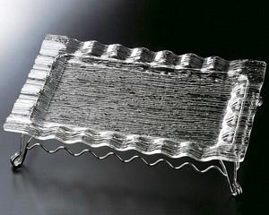 [鉄]さざ波ウエーブ長角盛皿48cm用スタンドのみ(皿は別売り)