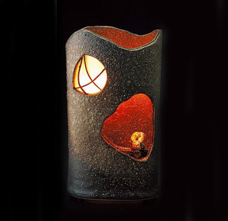 窓辺のふくろうランプ(室内用) 画像