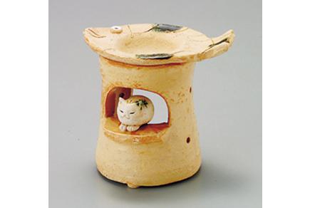 島ねこ 茶香炉 画像1