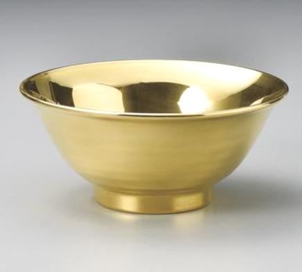 エバーゴールド 金塗麺鉢 画像
